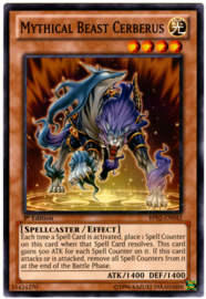 Mythical Beast Cerberus - 1st Edition - BP02-EN042 - MF