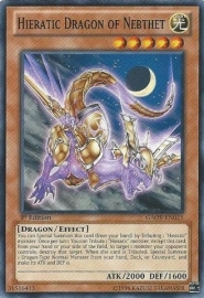 Hieratic Dragon of Nebthet - 1st Edition