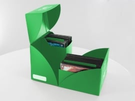 Ultimate Guard Twin Deck Case 160+ Standard Size Green