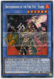 Brotherhood of the Fire Fist  - Eland - 1st. Edition - FIGA-EN014