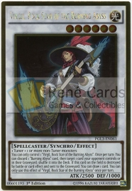 Virgil, Rock Star of the Burning Abyss - 1st Edition - PGL3-EN061