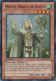 Musto, Oracle of Gusto - 1st. Edition - HA06-EN045