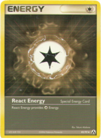React Energy - LegMa - 82/92
