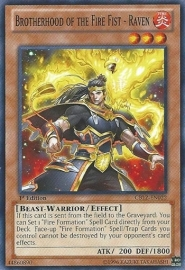 Brotherhood of the Fire Fist - Raven - Unlimited - CBLZ-EN022