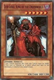 Lich Lord, King of the Underworld - Limited Edition - GLD4-EN019
