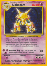 Alakazam - BaSet 1/102 - Unlimited