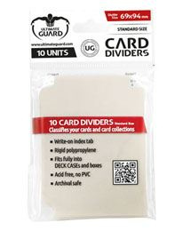 Card Dividers - Standard Size - Sand