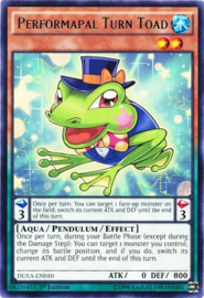 Performapal Turn Toad - 1st Edition - DUEA-EN010