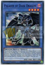 Paladin of Dark Dragon - 1st. Edition - DLCS-EN069 - Green