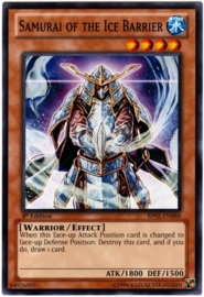 Samurai of the Ice Barrier - 1st Edition - BP02-EN088