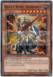 Beast King Barbaros - 1st Edition - YS16-EN017