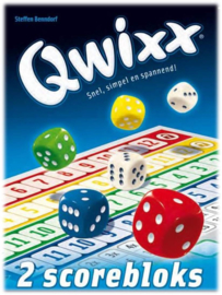 Qwixx - 2 Scorebloks