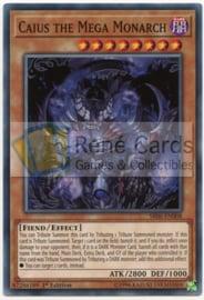 Caius the Mega Monarch - 1st Edition - SR06-EN008