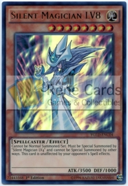 Silent Magician LV8 - 1st Edition - YGLD-ENC04