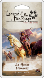Legend of the Five Rings - The Card Game - As Honor Demands