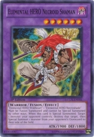Elemental HERO Necroid Shaman - Unlimited - LCGX-EN056