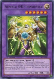 Elemental HERO Thunder Giant - Unlimited - LCGX-EN046