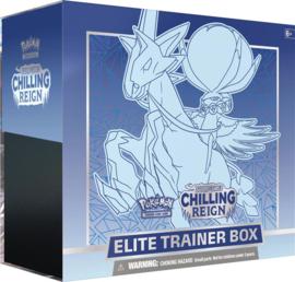Pokemon - Chilling Reign -  Elite Trainer Box - Ice Rider