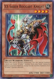 XX-Saber Boggart Knight - 1st. Edition - SP15-EN006