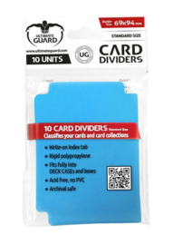 Card Dividers - Standard Size - Blue