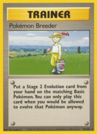 Pokemon Breeder - BaSet 76/102 - Unlimited