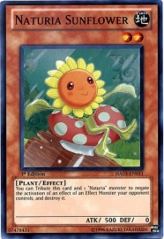 Naturia Sunflower - 1st. Edition - HA03-EN011