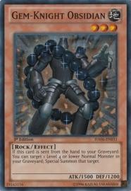 Gem-Knight Obsidian - 1st. Edition - HA06-EN031