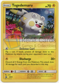 Togedemaru - SM09 - Promo - Sun & Moon Three Pack Blisters
