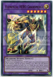 Elemental HERO Grandmerge - 1st. Edition - DUPO-EN004