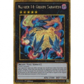 Number 14: Greedy Sarameya - 1st Edition - PGL2-EN017