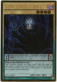 Vector Pendulum, the Dracoverlord - 1st Edition - PGL3-EN041