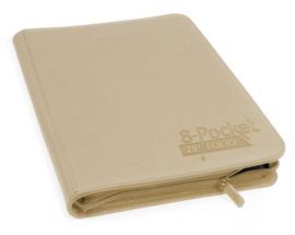 Ultimate Guard - 8-Pocket Zipfolio - Sand