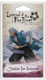 Legend of the Five Rings - The Card Game - Justice for Satsume