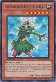 Elemental HERO Poison Rose - Unlimited - LCGX-EN036