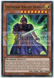 Legendary Knight Hermos - 1st. Edition - DLCS-EN003 - Green