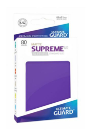 Supreme UX Sleeves - Standard Size Matte - Purple