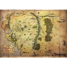 The Hobbit - Middle Earth Map (119)