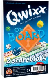 Qwixx - On Board - 2 Scoreblocks