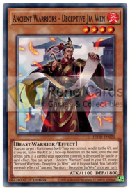 Ancient Warriors - Deceptive Jia Wen - 1st. Edition - ETCO-EN022