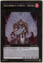 Brotherhood of the Fire Fist - Tiger King - 1st Edition - PGLD-EN045