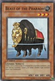 Beast of the Pharaoh - 1st. Edition - TDGS-EN032