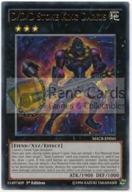 D/D/D/ Stone King Darius - 1st. Edition - MACR-EN045