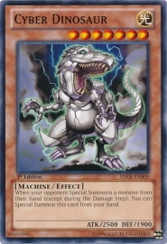 Cyber Dinosaur - 1st Edition - SDCR-EN009