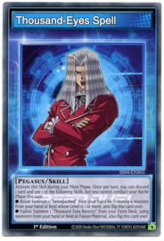 Thousand-Eyes Spell - 1st Edition - SS04-ENS03 - Skill