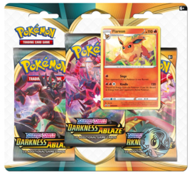 Pokemon - S&S - Darkness Ablaze - 3-Booster Blister Flareon