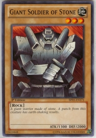 Giant Soldier of Stone - 1st Edition - BP01-EN171