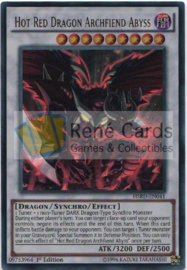 Hot Red Dragon Archfiend Abyss - 1st. Edition - HSRD-EN041