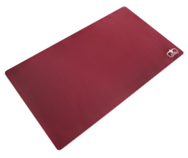 Monochrome - Play Mat - Bordeaux Red
