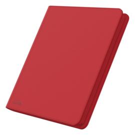 12-Pocket QuadRow ZipFolio XenoSkin Red