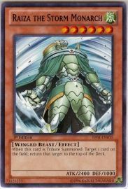 Raiza the Storm Monarch - Unlimited - BP01-EN015